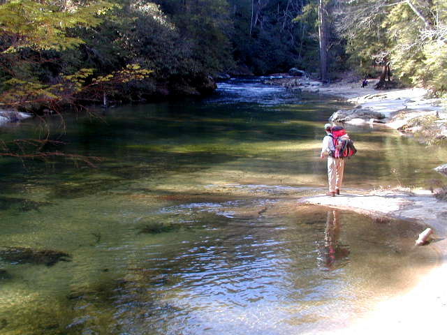 Chattooga river trail for Sumter national forest cabins