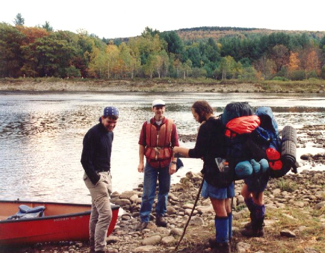 "Preparing To Cross The Kennebec With Steve The ""Ferryman"""