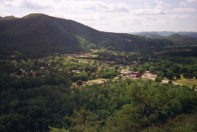 View Of Hot Springs From North