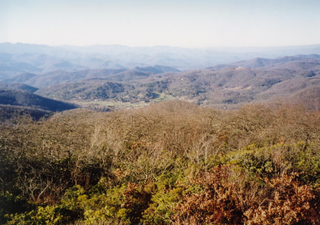 RABUN BALD VIA BEEGUM GAP