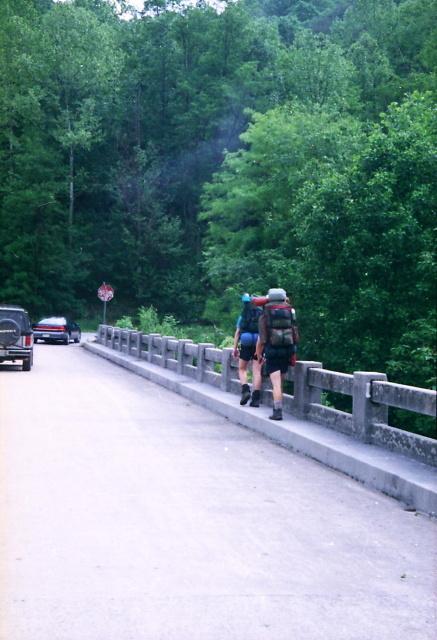 DAVENPORT GAP TO NOLICHUCKY RIVER