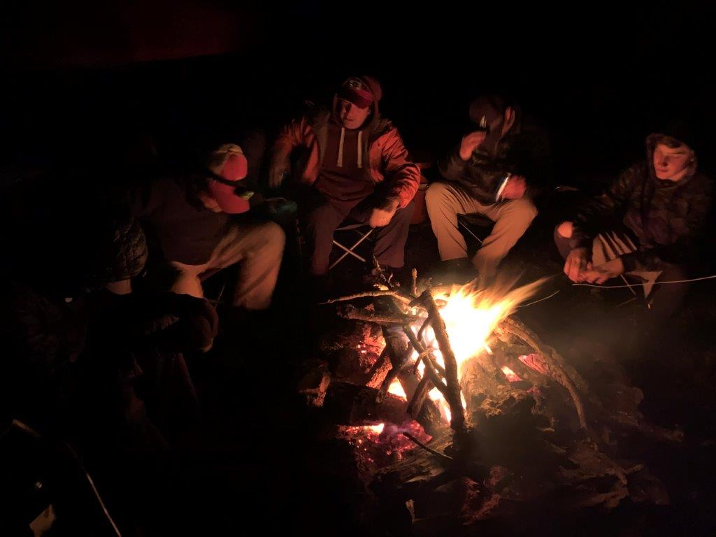Sassafras Mountain Campfire