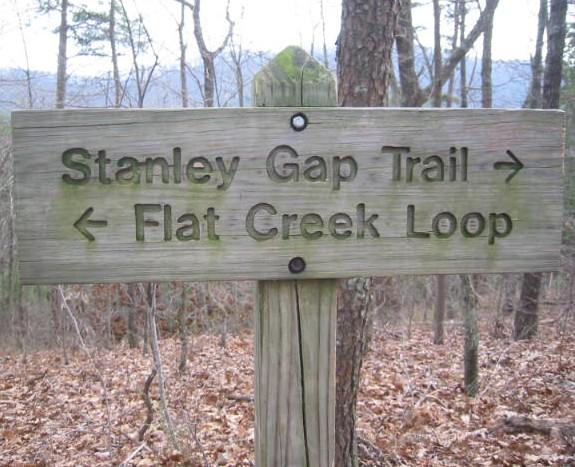 The Stanley Gap Trail - Rich Mountain Wilderness