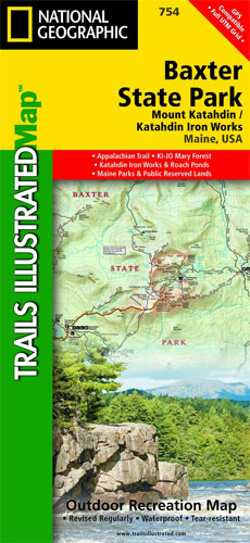 Katahdin Trail Map
