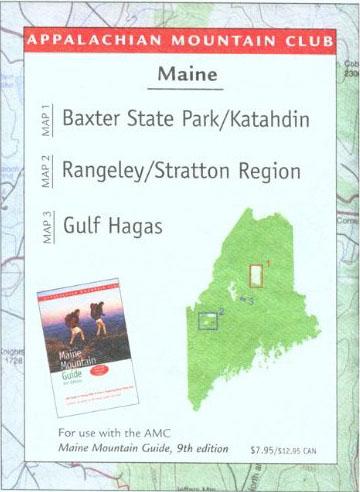 Katahdin Trail Map