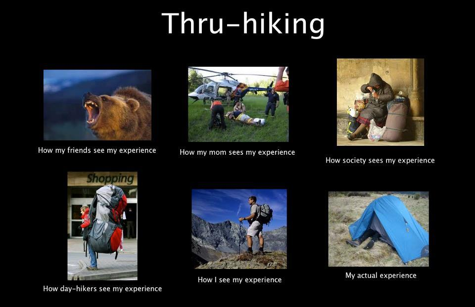 Appalachian Trail Thru-Hiker As Seen By Others