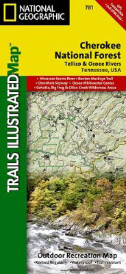 Joyce-Kilmer Slickrock-Creek Trail Map