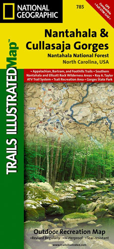 Nantahala Trail Map