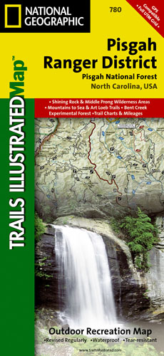 Pisgah National Forest Trail Map