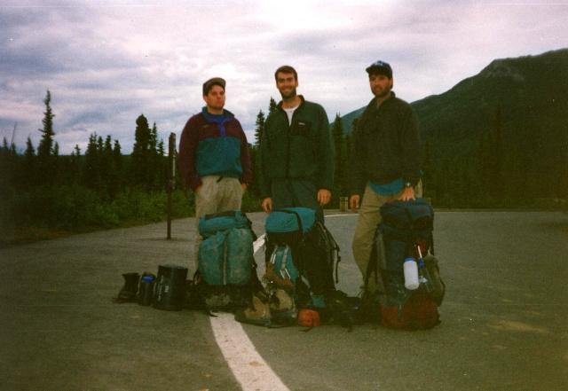 Left to Right:  BirdShooter, Slawdog, The Iceman