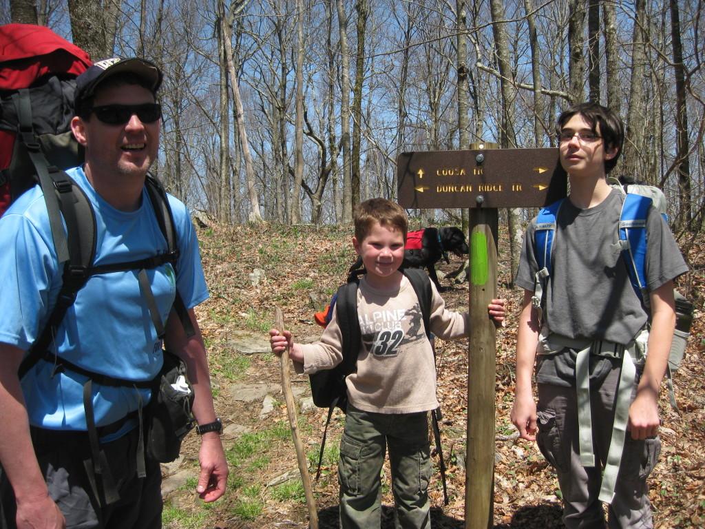 DRT/Coosa Trail Junction