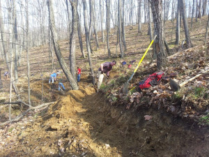 Trail work