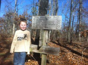 Will Pine Mountain Trail - Dec 2010