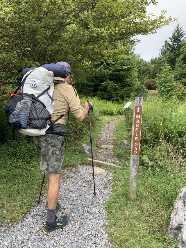 Connector Trail To Massie's Gap